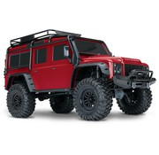 Traxxas (TRA) TRX4 Scale & Trail Crawler RTR (RED)