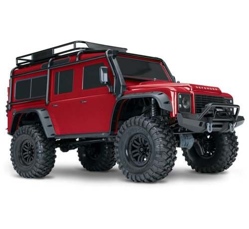 Traxxas (TRA) 82056-4 TRX-4 Scale & Trail Crawler RTR (RED)