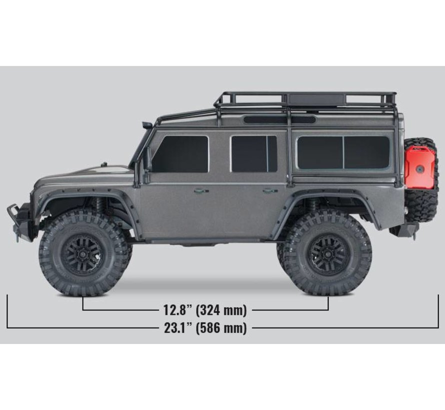 82056-4 TRX-4 Scale & Trail Crawler RTR (RED)
