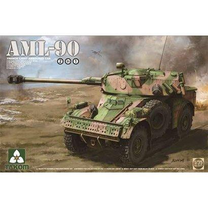 TAKOM INT (TAK) TAK2077 Takom 1/35 AML-90 French Light Armoured Car