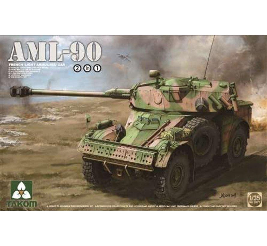TAK2077 Takom 1/35 AML-90 French Light Armoured Car