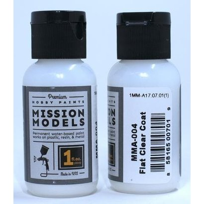 MMP-Mission Models MMA-004 FLAT CLEAR COAT