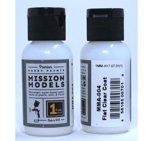 MMP-Mission Models MMA-004 FLAT CLEAR COAT