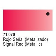 VLJ-VALLEJO ACRYLIC PAINTS 71070 - TURN-SIGNAL RED METAL       17ML