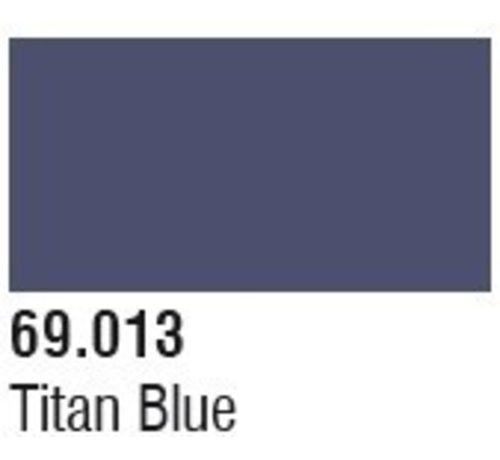 VALLEJO ACRYLIC (VLJ) 69013 Bottle Titan Blue Mecha Color 17ml