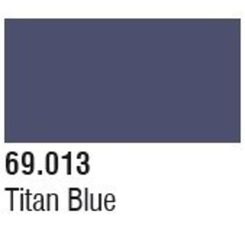 VLJ-VALLEJO ACRYLIC PAINTS 69013 Bottle Titan Blue Mecha Color 17ml