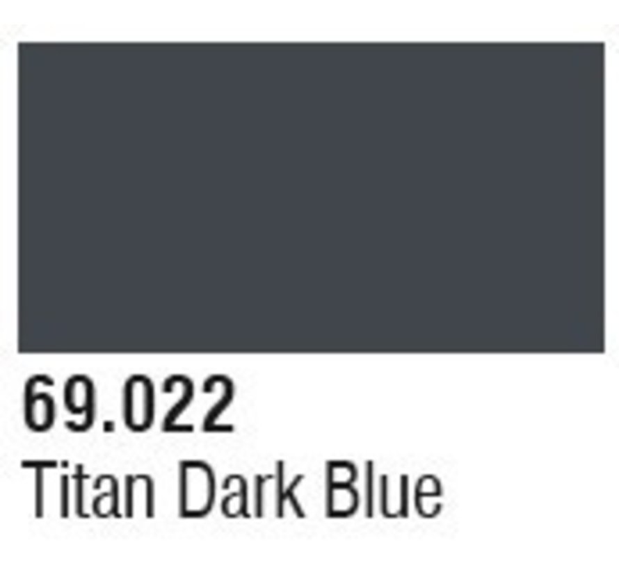 69022 Titan Dark Blue Mecha Color 17ml Bottle
