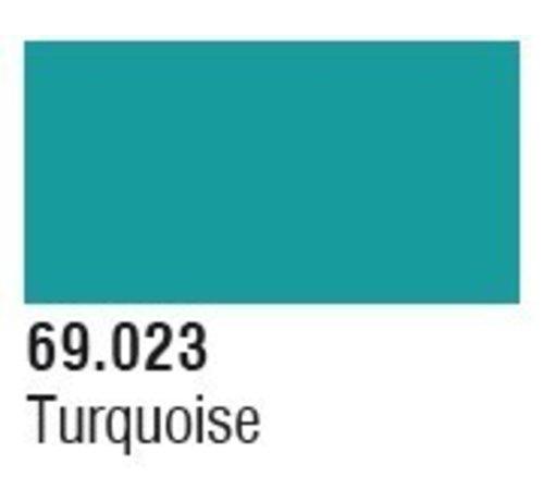 VLJ-VALLEJO ACRYLIC PAINTS 69023 Turquoise Mecha Color 17ml Bottle