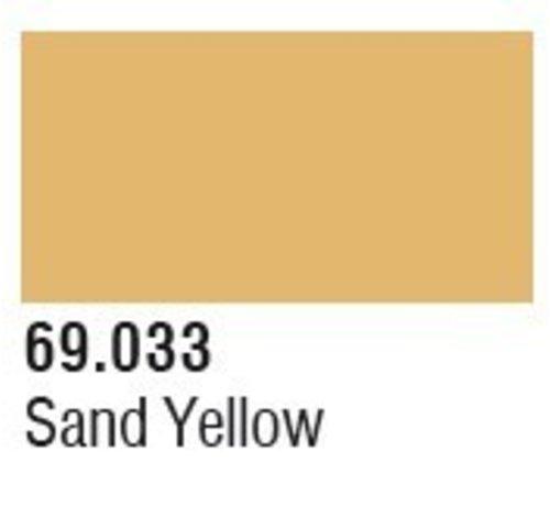 VLJ-VALLEJO ACRYLIC PAINTS 69033 Sand Yellow Mecha Color 17ml Bottle