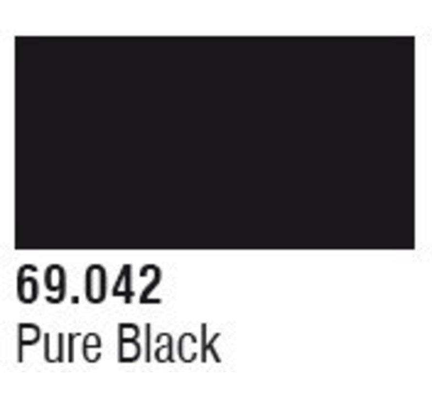 69042 Pure Black Mecha Color 17ml Bottle