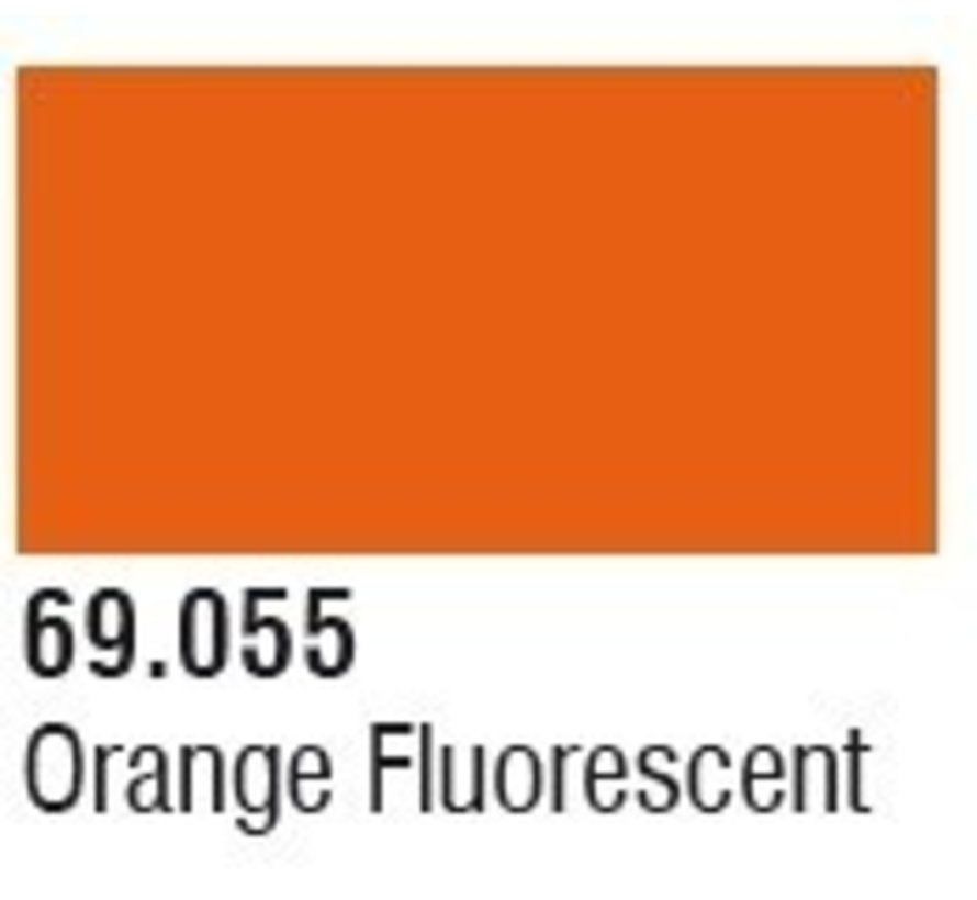 69055 Orange Fluorescent Mecha Color 17ml Bottle