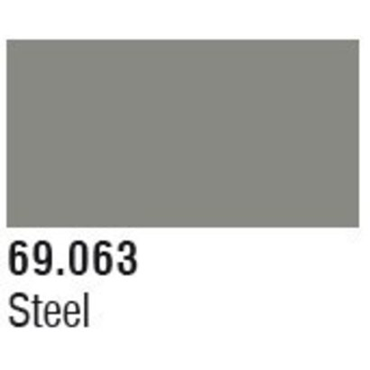 VLJ-VALLEJO ACRYLIC PAINTS 69063 Steel Mecha Color 17ml Bottle