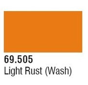 VALLEJO ACRYLIC (VLJ) 69505 Light Rust Mecha Color 17ml Bottle