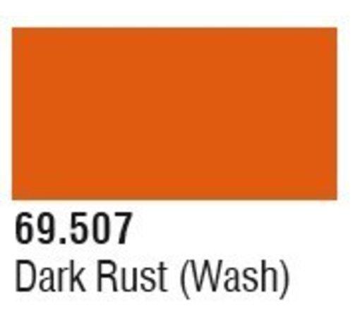 VLJ-VALLEJO ACRYLIC PAINTS 69507 Dark Rust Wash Mecha Color 17ml Bottle