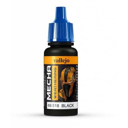 VLJ-VALLEJO ACRYLIC PAINTS 69518 Black Wash Mecha Color 17ml Bottle