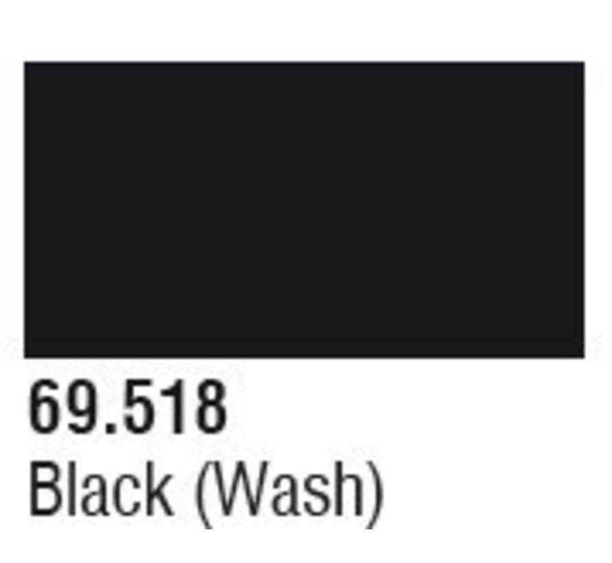 69518 Black Wash Mecha Color 17ml Bottle