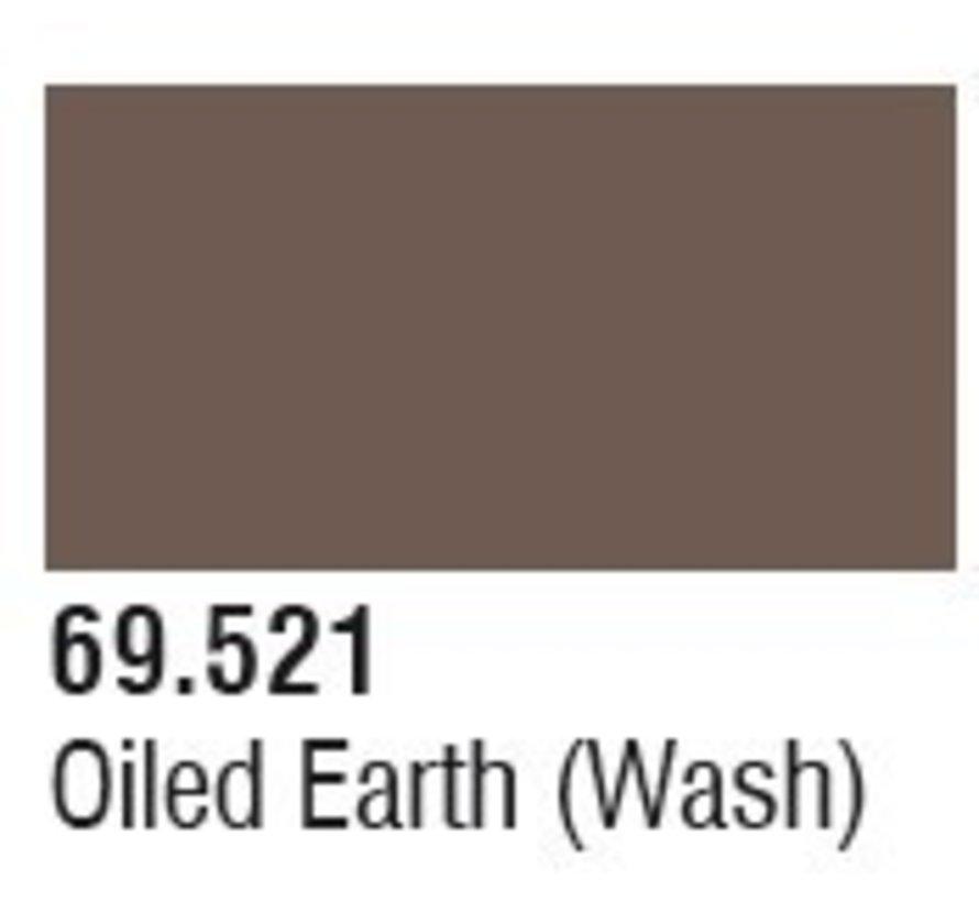 69521 Oiled Earth Wash Mecha Color 17ml Bottle