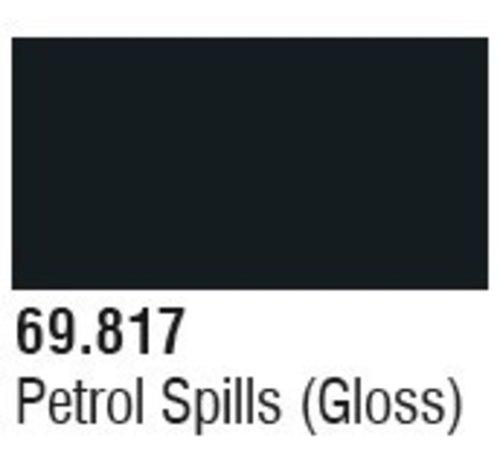 VALLEJO ACRYLIC (VLJ) 69817 Petrol Spills (Gloss) Mecha Color 17ml Bottle