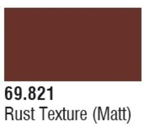 VALLEJO ACRYLIC (VLJ) 69821 Rust Texture (Matt) Mecha Color 17ml Bottle