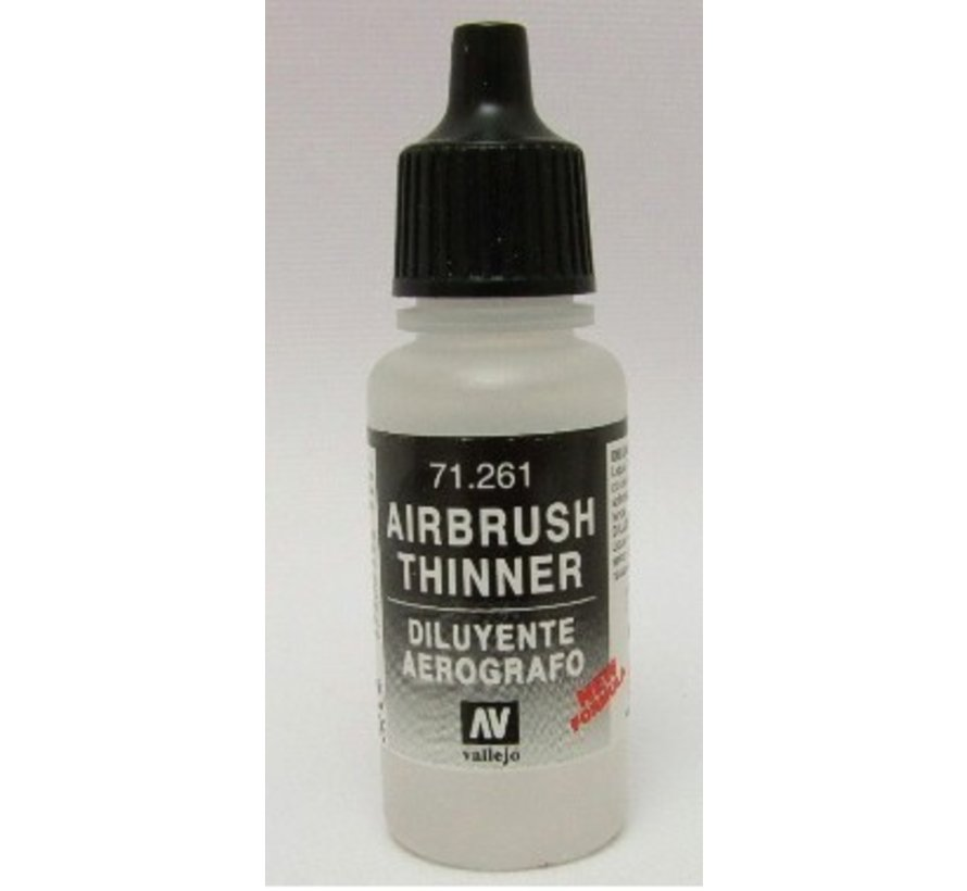 71261 - AIRBRUSH THINNER            17ML