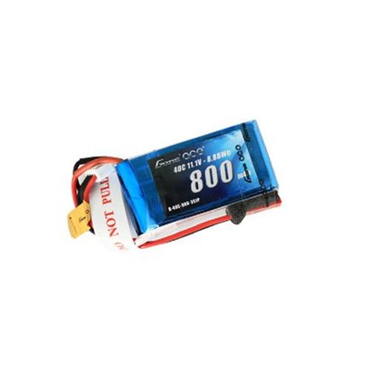 Gens ace Gens ace 800mAh 11.1V 40C 3S1P Lipo Battery Pack with JST-SYP plug