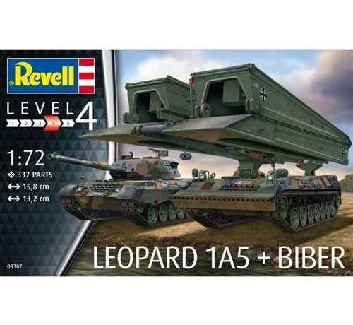 Revell Germany (RVL) 03307 1/72 Leopard 1A5/Bridgelayer Biber
