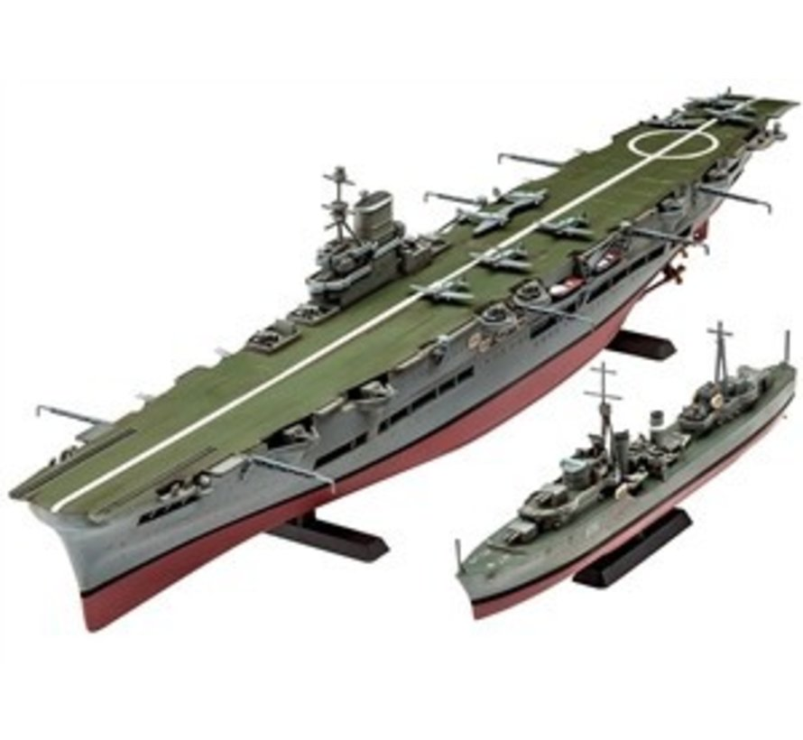 05149 1/720 HMS Ark Royal/Tribal Class Destroyer