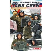 MENG MODEL (MGK) HS007 1/35 Russian Armed Forces Tank Crew Figure Set (4)