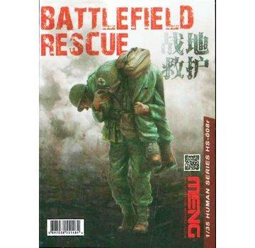 MENG MODEL (MGK) HS008R 1/35 BATTLEFIELD RESCUE (RESIN)