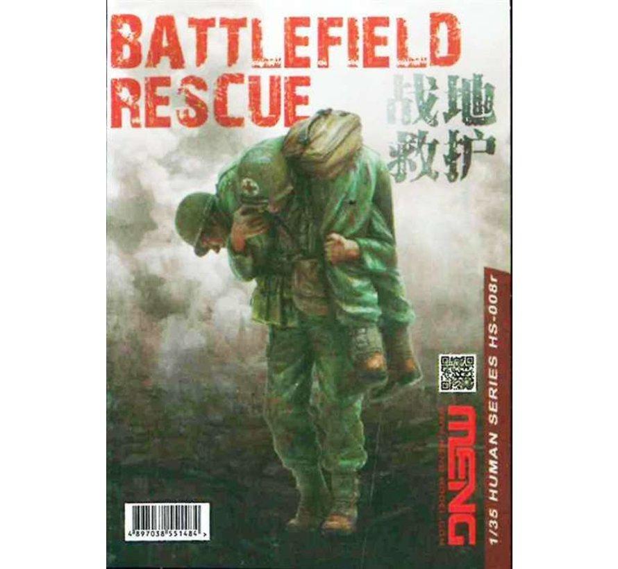 HS008R 1/35 BATTLEFIELD RESCUE (RESIN)