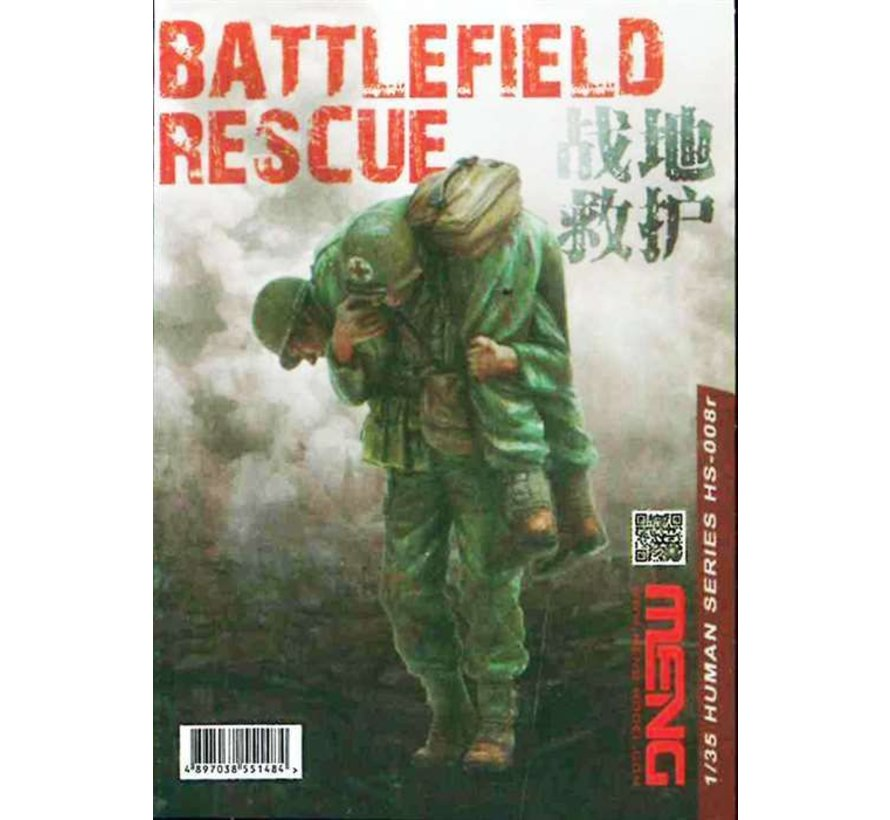HS008R 1/35 BATTLEFIELD RESCUE (RESIN)