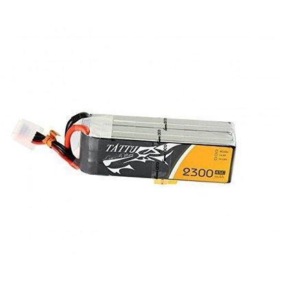 Tattu Tattu 2300mAh 45C 4S1P Lipo Battery Pack with XT60 plug