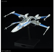 Bandai Blue Squadron Resistance X-Wing Fighter