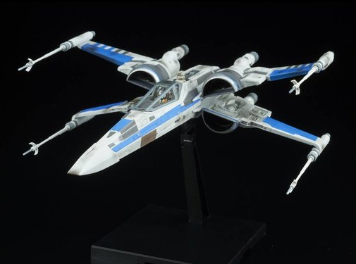 BANDAI MODEL KITS Blue Squadron Resistance X-Wing Fighter