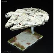BANDAI MODEL KITS 1/144  Millennium Falcon Last Jedi