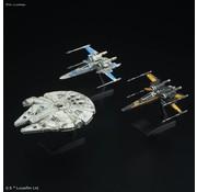 BANDAI MODEL KITS Resistance Vehicle Set  Star War