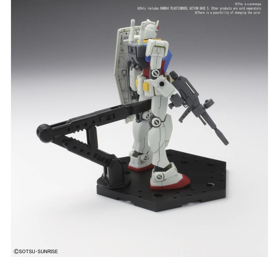 222132 Clear Action Base 5 - Bandai Action Base