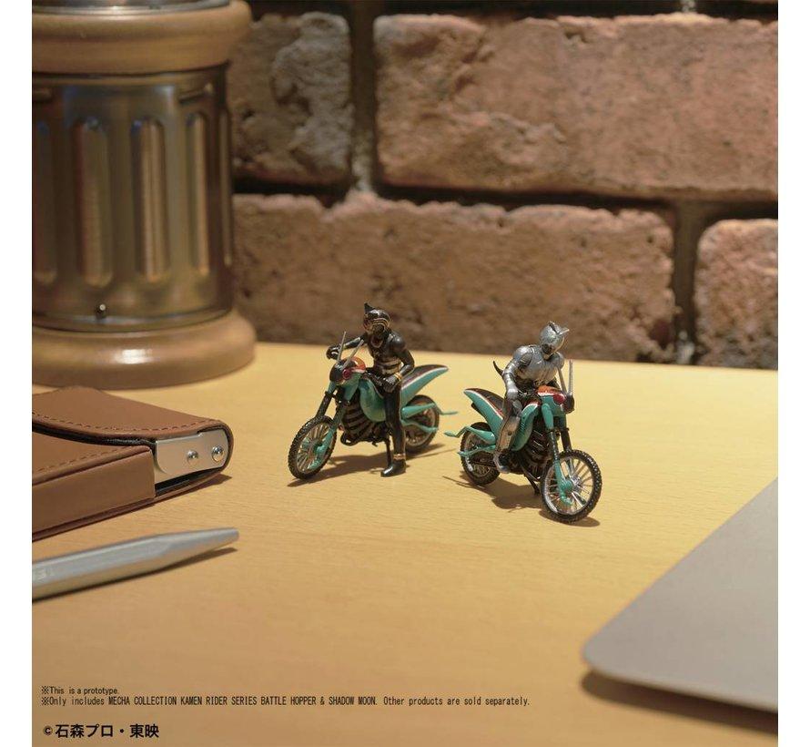 "221053 Kamen Rider Series Battle Hopper & Shadow Moon ""Kamen Rider"", Bandai Mecha Collection"