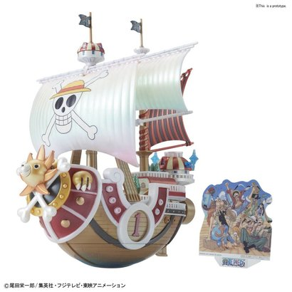 "BANDAI MODEL KITS 219771 Thousand Sunny Memorial Color ver. ""One Piece"", Bandai One Piece Grand Ship Collection"