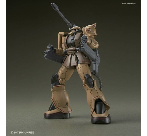 "BANDAI MODEL KITS 219767 Zaku Half Cannon ""Gundam The Origin"", Bandai HG 1/144"