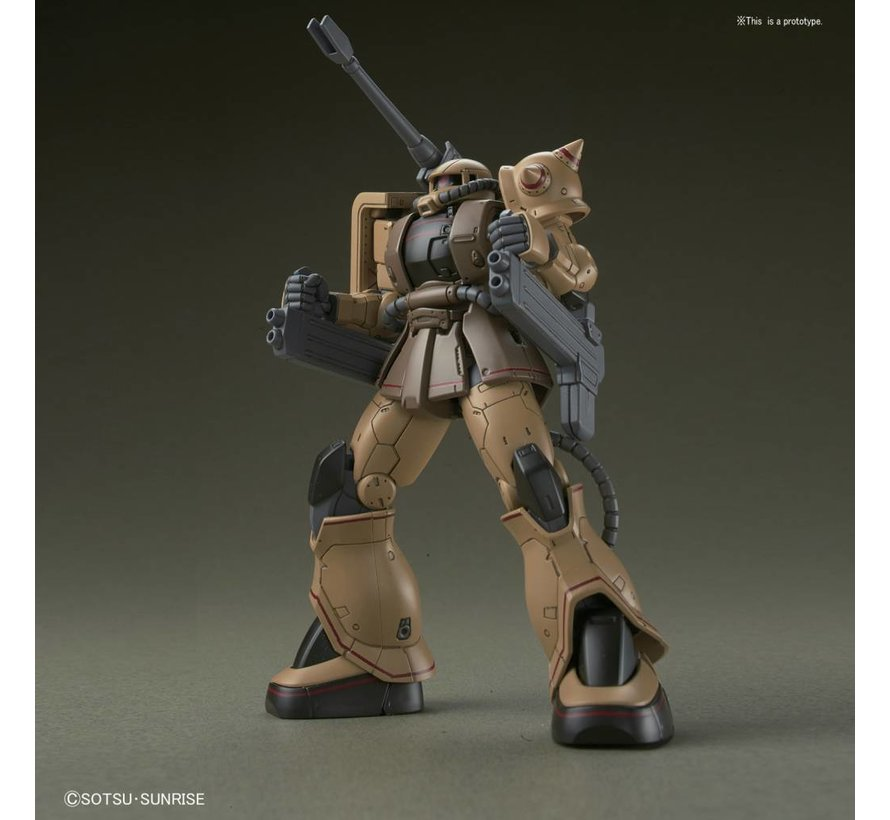 "219767 Zaku Half Cannon ""Gundam The Origin"", Bandai HG 1/144"