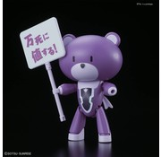 BANDAI MODEL KITS Petit'gguy Tieria Erde Purple & Placard