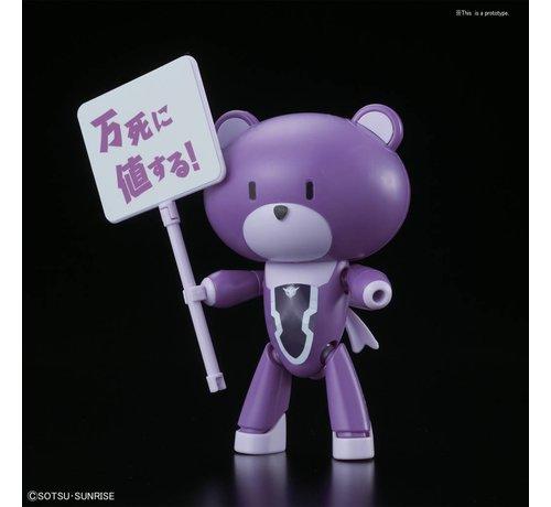 """BANDAI MODEL KITS 221059 Petit'gguy Tieria Erde Purple & Placard """"Gundam Build Fighters"""", Bandai HGPG 1/144"""