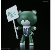 BANDAI MODEL KITS Petit'gguy Lockon Stratos Green & Placard
