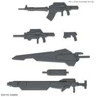BANDAI MODEL KITS 24th Century Weapons