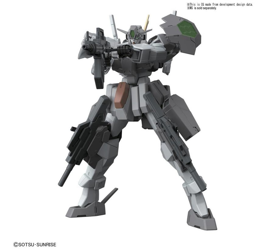 "220706 24th Century Weapons ""Gundam Build Fighters"", Bandai HGBC 1/144"