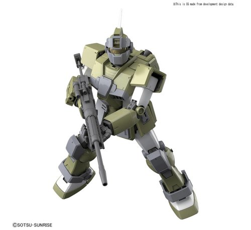 "BANDAI MODEL KITS 219768 GM Sniper Custom ""Mobile Suit Gundam MSV"", Bandai MG 1/100"