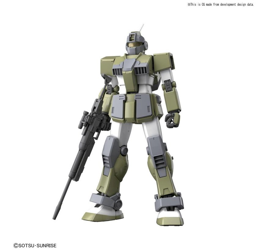 "219768 GM Sniper Custom ""Mobile Suit Gundam MSV"", Bandai MG 1/100"