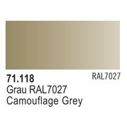 VALLEJO ACRYLIC (VLJ) CAMOUFLAGE GRAY - Model Air