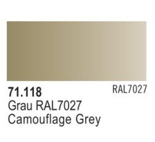 VALLEJO ACRYLIC (VLJ) 71118 - CAMOUFLAGE GREY             17ML